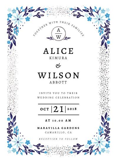 wedding invitations - Alice by kukkiilabs
