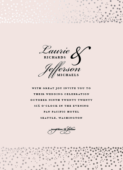 wedding invitations - Bubbles by Laura Hamm
