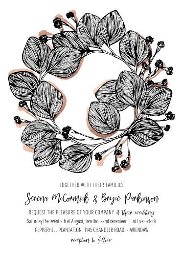 wedding invitations - Elegant Charm by Mahaley Keen
