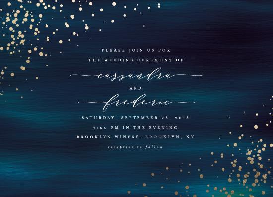 wedding invitations - Cosmic by Ana Sharpe