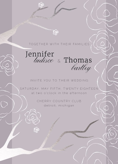 wedding invitations - Spring Blossom by Jane S