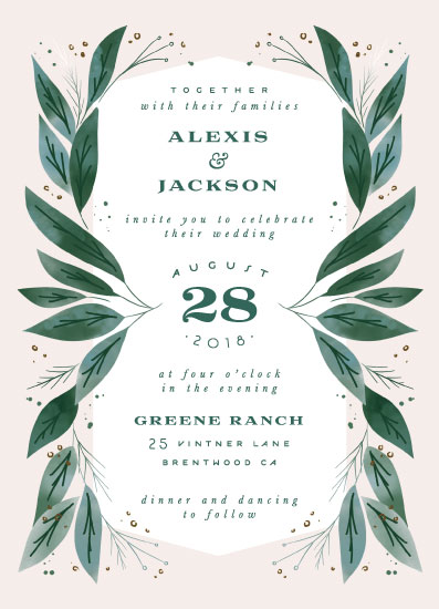 wedding invitations - Eternity by Leah Bisch