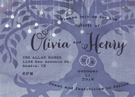 wedding invitations - Sacred Grove by John Henry