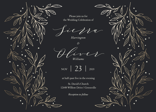 wedding invitations - Classic Elegance by Lorent and Leif