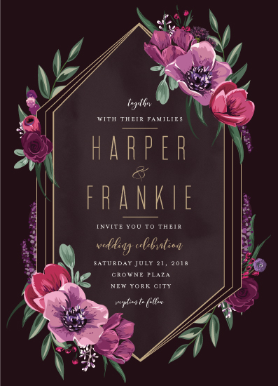 wedding invitations - Jewel by Susan Moyal