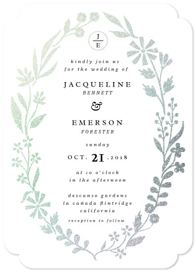 wedding invitations - Backyard Botanicals by kukkiilabs