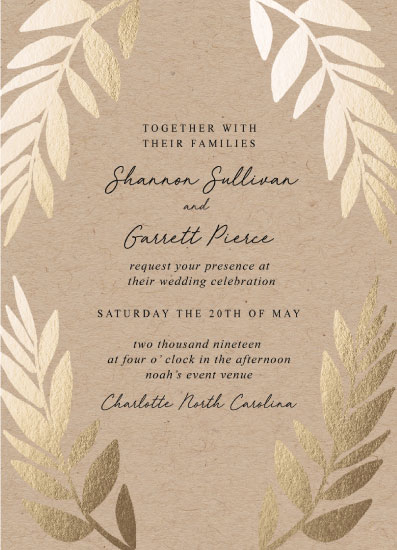 wedding invitations - Grecian Vintage by Alethia Frye