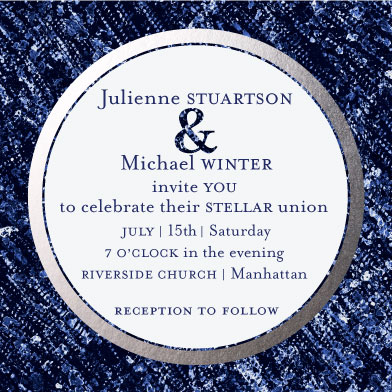 wedding invitations - Stellar by Bethania Lima