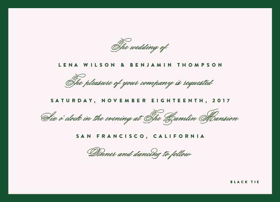 wedding invitations - You're My Type by Wildbrook Press