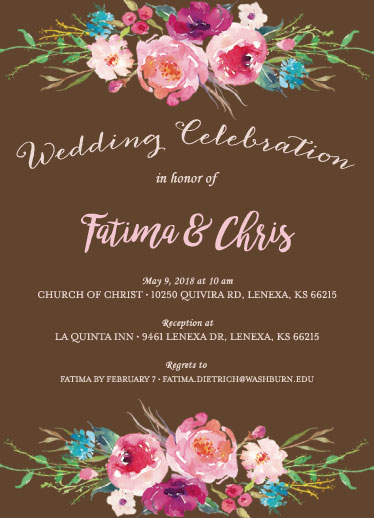 wedding invitations - Floral Wedding by Cheen