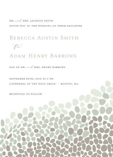 wedding invitations - sea road by Heather Azano-Brown