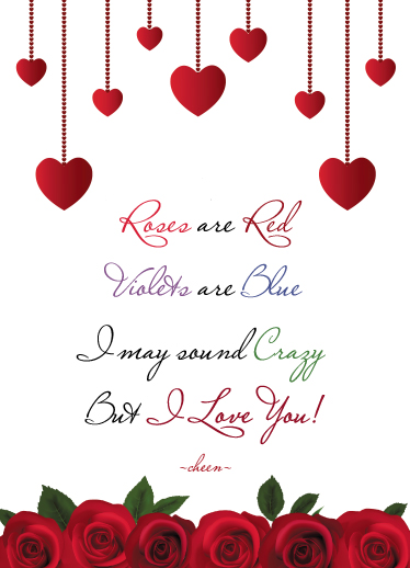 valentine's day - Roses are Red♥ by Cheen