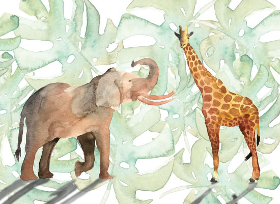 art prints - Unlikely Friends by Brydon Holsey