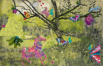 art prints - Dreamy Forest by Aleksandra Vujkov