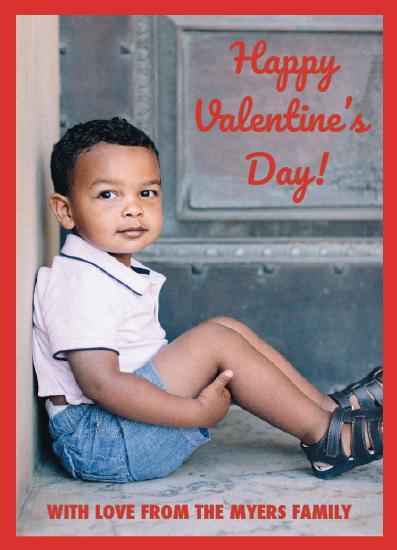 valentine's day - Crimson Red Valentine by Aleksandra Vujkov