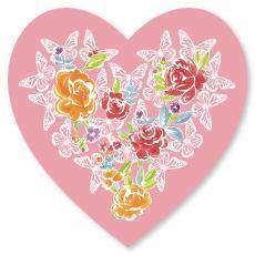 Butterfly Heart Valentine's