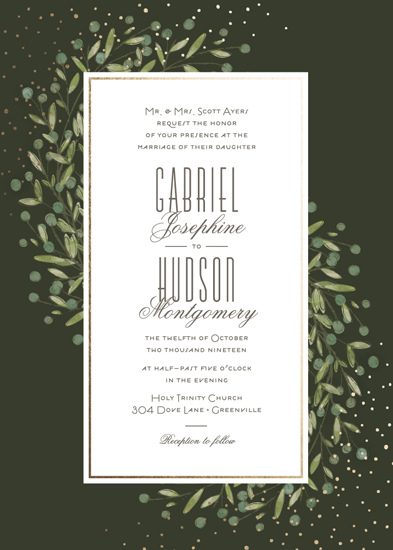 wedding invitations - Firefly by Lorent and Leif
