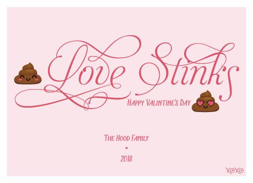 valentine's day - Love Stinks by Dave Dane