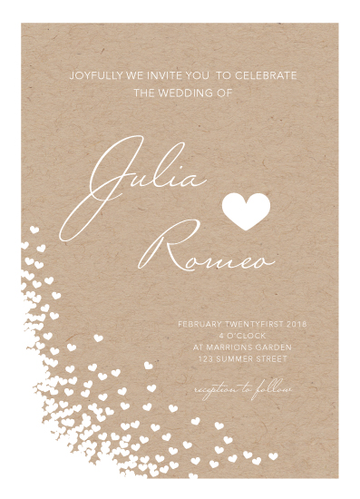 wedding invitations - I heart You by Soleil Himmelvid