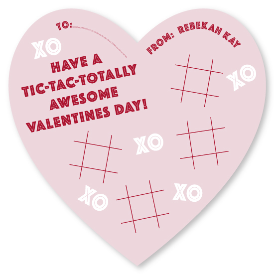 valentine's day - Tic-Tac-Totally by Bekah Beckman