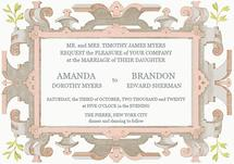 Powder Pink Wedding Inv... by Aleksandra Vujkov