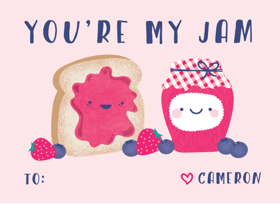 valentine's day - You're my jam by Anne Holmquist