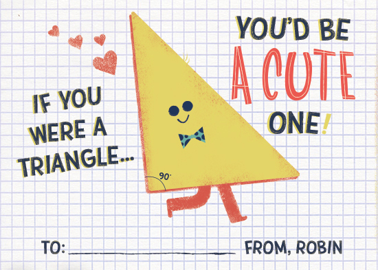 valentine's day - Acute Triangle by Marie Hermansson