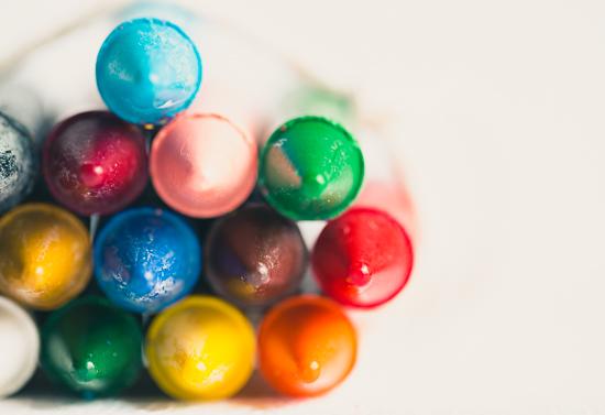 art prints - Crayons by Helen Makadia Photography