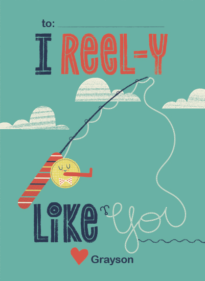 valentine's day - I Reel-y Like You by Marie Hermansson
