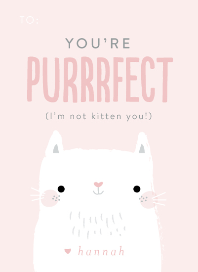 valentine's day - You're Purrfect by Itsy Belle Studio