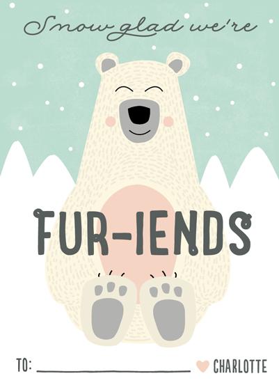 valentine's day - Fur-iends by Erica Krystek