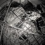 Globe Sculpture by Ramiro Pires