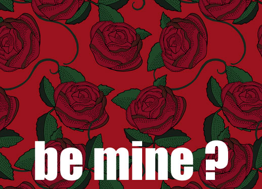 valentine's day - Be Mine by Bethan Osman