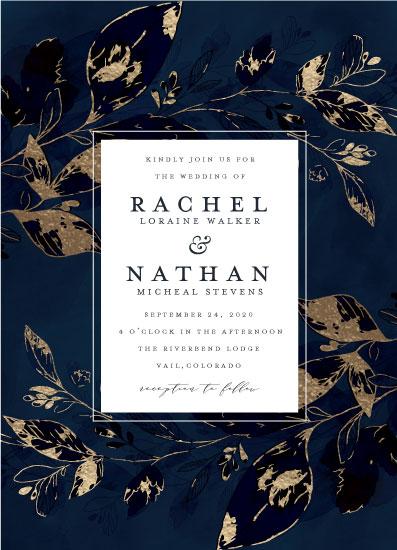 wedding invitations - Midnight Vines by Grace Kreinbrink