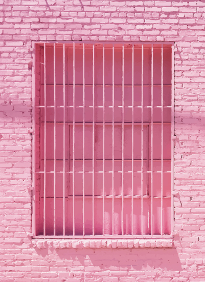 art prints - Pink Window No. 1 by Jenna Gibson