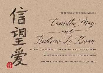 Chinese Faith Hope Love
