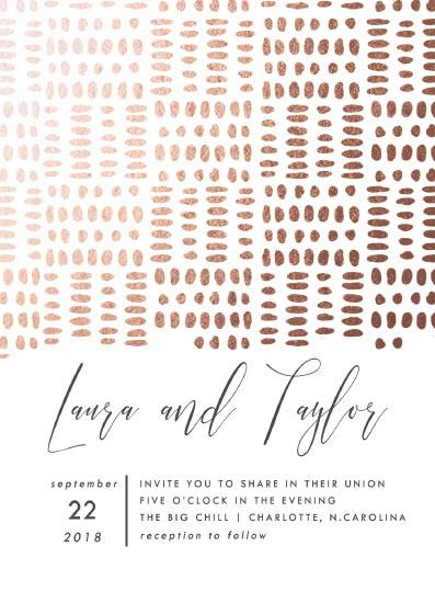 wedding invitations - Ink Blot by Alethia Frye