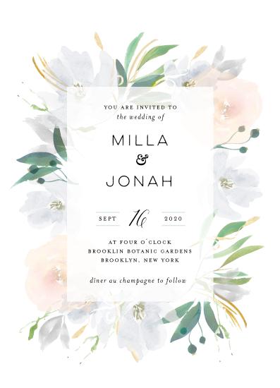 wedding invitations - Grande Botanique by Bonjour Paper