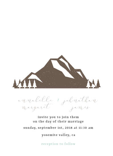 wedding invitations - Greatest Adventure by Salt and Light