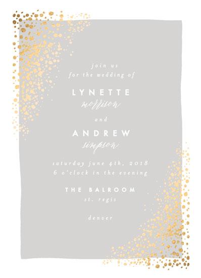 wedding invitations - River Rock by AK Graphics