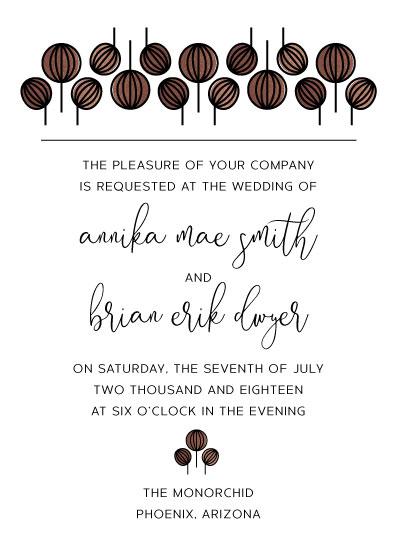 wedding invitations - Scandinavian Simplicity by kelly ashworth