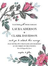 Birch Floral by Deyas Paper co.