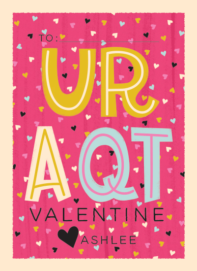 valentine's day - U-R-A-QT by Marie Hermansson