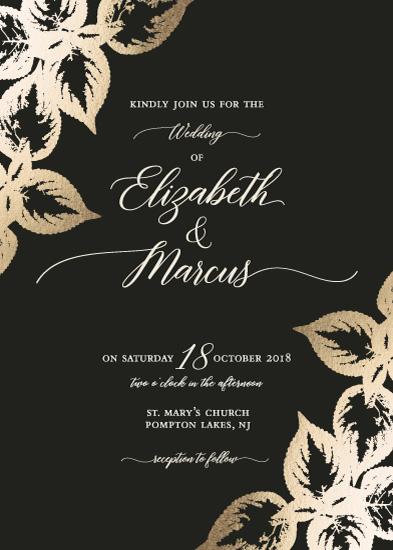wedding invitations - Coleus by Maria Koontz