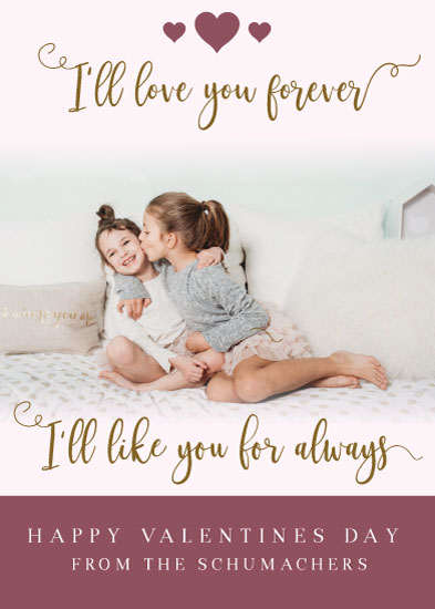 valentine's day - I'll Love You Forever by Michayla Pearson