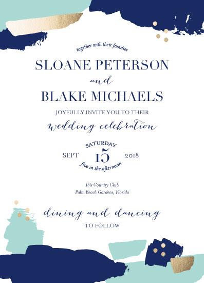 wedding invitations - Stylish Strokes by Blair Stratton