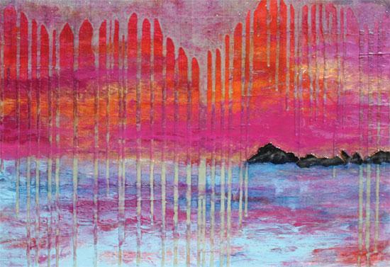 art prints - Black's Island by Maxine Orange