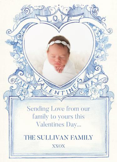 valentine's day - Vintage Love-Heart by Anthea BN