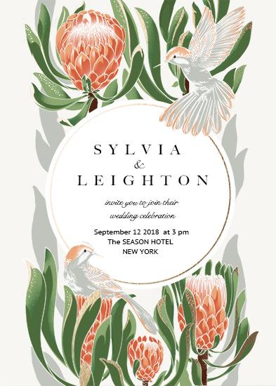wedding invitations - You & Me by Lynn Lin
