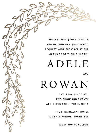 wedding invitations - Pleureur by Up Up Creative